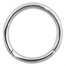 Steel Basicline® - Scharnier/ Hinged Smooth Segment Ring  1,0 mm
