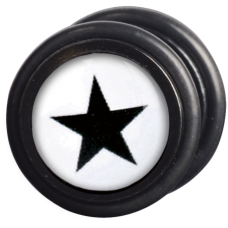 Steel Blackline® - Star Fake Plug