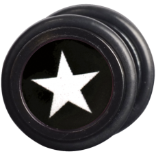 Steel Blackline® - White Star Fake Plug