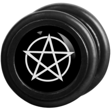 Wildcat® Black´n´White - Pentagram black/white Fake Plug