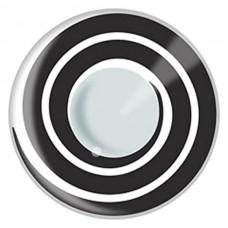 Terror Eyes® Black Spiral - Kontaktlencse