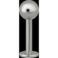 Steel Basicline® Labret Stud 1,6