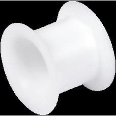 Silicone Flesh Tunnel White