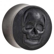 Skull one Ebony Wood