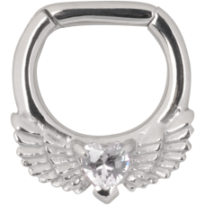 Steel Basicline® - Wing Heart Septum
