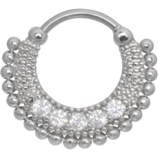 Steel Basicline® - Hinged Orient Septum silver