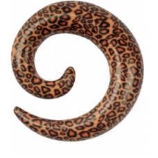Acrylic Leopard Spiral